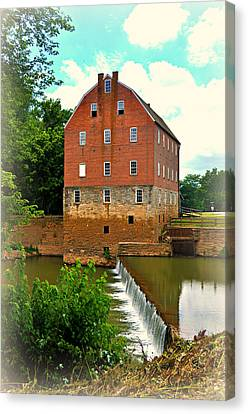 Bollinger Mill Canvas Print by Marty Koch