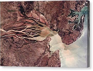 Bombetoka Bay, Madagascar Canvas Print by Nasa