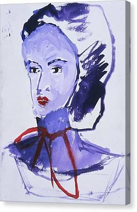 Bonnet Canvas Print by Iris Gill