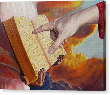 Book Of Life Canvas Print by Yulia Litvinova