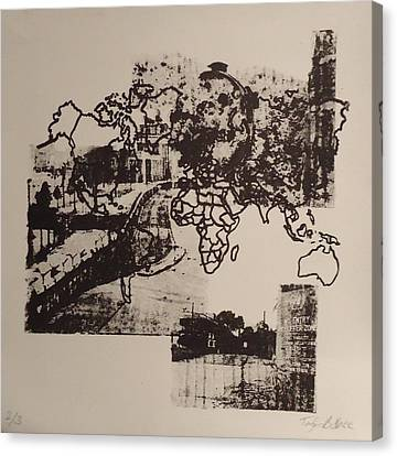 Borders 1 Canvas Print by Taylor Lee Bisbee