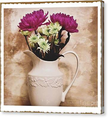 Bouquet One Canvas Print by Marsha Heiken
