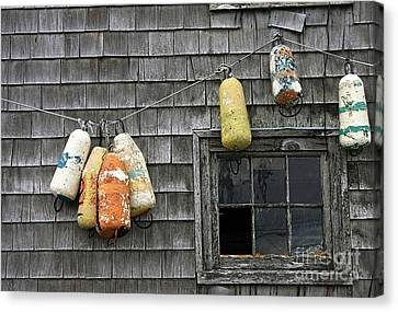 Bouy Tie Canvas Print by Tom Griffithe