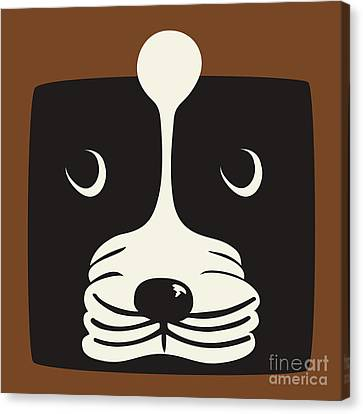 Boxer Canvas Print by Laura Brightwood