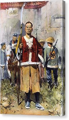 Boxer Rebellion, 1900 Canvas Print by Granger
