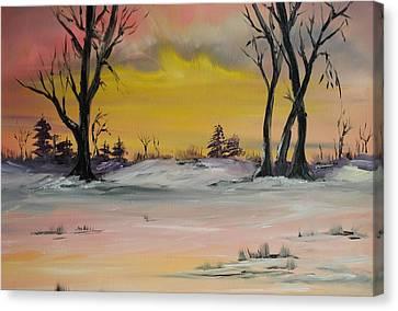 Breaking Dawn Canvas Print by James Higgins