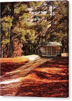 Brewer Cabin Canvas Print by Jai Johnson