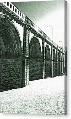 Bridge In Ribeira Grande Canvas Print by Gaspar Avila