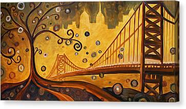 Bridge Canvas Print by Sara Coolidge