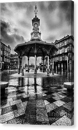 Bridgeton Cross Bandstand Glasgow Canvas Print by John Farnan