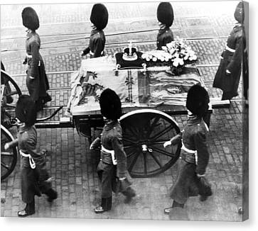 British Royal Family. Procession Canvas Print by Everett