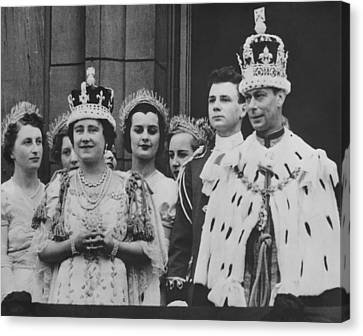 British Royalty. Front Row British Canvas Print by Everett