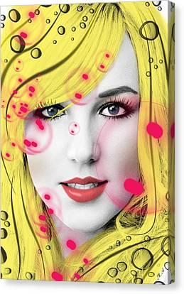 Britney  Canvas Print by Mark Ashkenazi