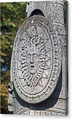 Brocks Monument 10 Canvas Print by Cyryn Fyrcyd
