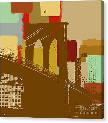 Brooklyn Bridge  Canvas Print by Art Yashna