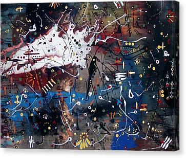 Brubeck On My Mind Canvas Print by Charlotte Nunn