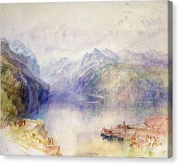 Brunnen  Canvas Print by Joseph Mallord William Turner