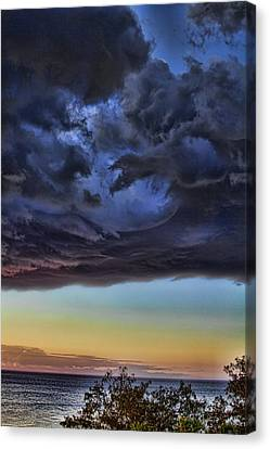 Bubble Cloud Canvas Print by Douglas Barnard