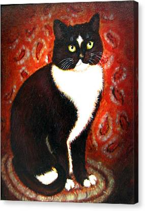 Buddy Canvas Print by Karen Roncari