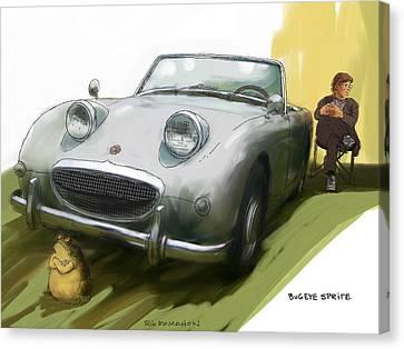 Bugeye Sprite Canvas Print by RG McMahon