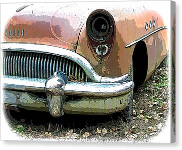 Buick Canvas Print by Steve McKinzie