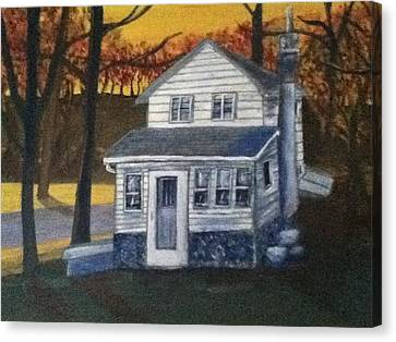 Built In 1936 Canvas Print by Richard  Hubal