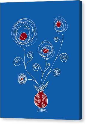 Bulb Flower Canvas Print by Frank Tschakert