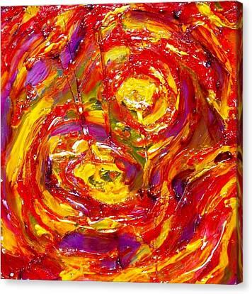 Burning Canvas Print by Hatin Josee