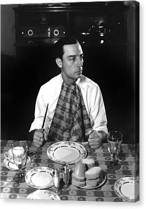 Buster Keaton, Mgm, 1933, Photo Canvas Print by Everett