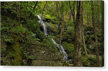 Buttermilk Falls - Tillmans Ravine Canvas Print by Stephen  Vecchiotti