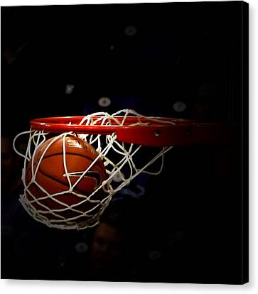 Buzzer Beater  Canvas Print by Judge Howell
