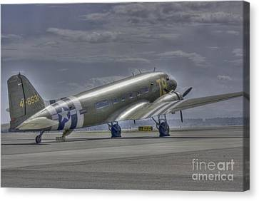 C-47 Skytrain Canvas Print by David Bearden