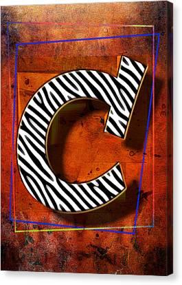 C Canvas Print by Mauro Celotti