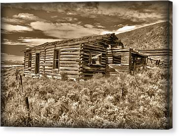 Cabin Fever Canvas Print by Shane Bechler