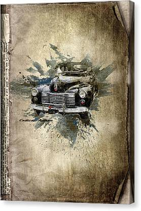 Cadillac Aldham Canvas Print by Svetlana Sewell