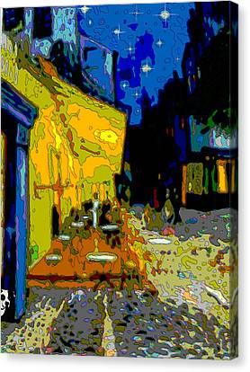 Cafe Vincent Canvas Print by Jann Paxton