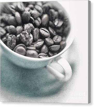 Caffeine Canvas Print by Priska Wettstein