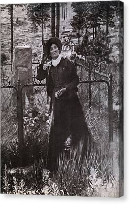 Calamity Jane Martha Jane Burke Canvas Print by Everett