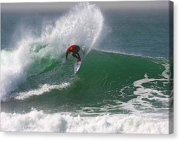 California Surfing 3 Canvas Print by Larry Marshall