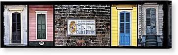 Calle D Borbon Canvas Print by Bill Cannon