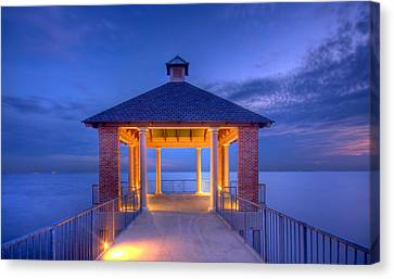 Calm Evening Canvas Print by Pixel Perfect by Michael Moore