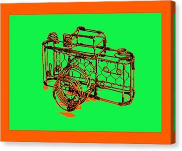 Camera 1c Canvas Print by Mauro Celotti