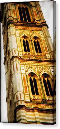 Campanile Di Giotto Canvas Print by Li   van Saathoff