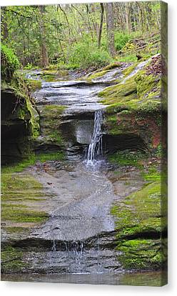 Camusfearna Gorge 1 Canvas Print by Peter  McIntosh