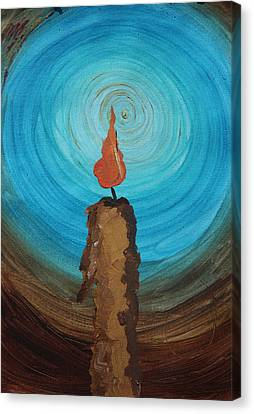 Candlelight 12 Canvas Print by Jonathan Kotinek