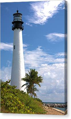 Cape Florida Lighthouse Canvas Print by Rudy Umans