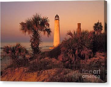 Cape Saint George Lighthouse 3 - Fs000776 Canvas Print by Daniel Dempster