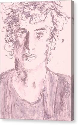 Captive Canvas Print by Iris Gill