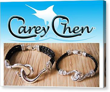 Carey Chen Jewelry Canvas Print by Carey Chen