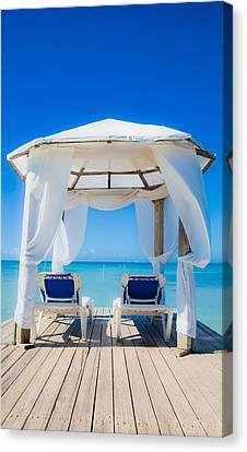 Caribbean Relaxation   Canvas Print by Patrick  Flynn